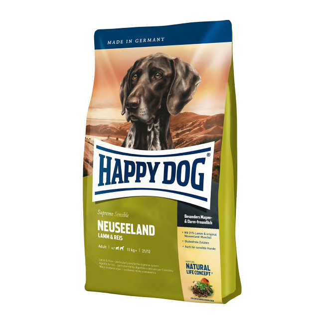 happy dog supreme neuseeland- 4 kg